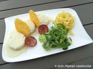 Recette Ballotines de poulet à la franc-comtoise de Philippe Etchebest