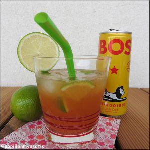 Recette Cocktail limoncello, thé glace & orange [#drink #apero #icetea #cocktail]