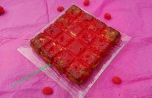 Recette Brownie chocolat blanc-pralines roses