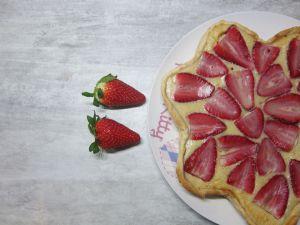 Recette Tarte fraise et banane