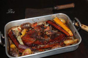Recette Rouelle de porc  confite au four
