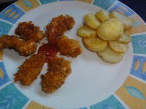 Recette Nuggets de poulet au corn flakes