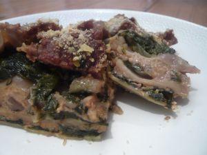 Recette Lasagnes aux blettes et aux noix (vegan)