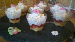 Recette Mignardises aux fraises