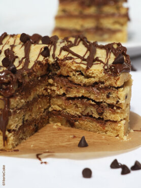 Recette Layer cake aux cookies