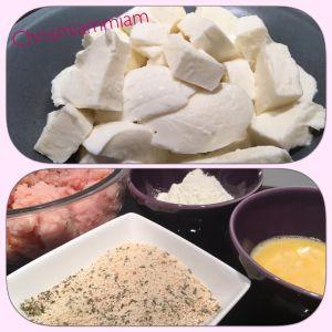 Recette Nuggets maison au fromage fondu