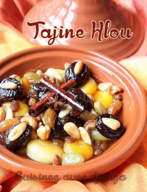 Recette Tajine Lhou / tajine sucre