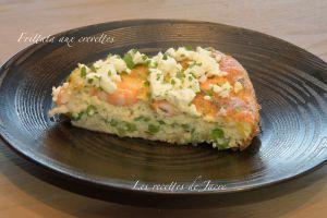 Recette Frittata aux crevettes
