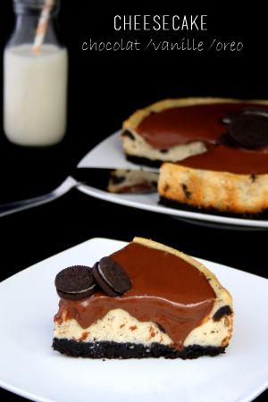 Recette Cheesecake {chocolat / vanille / oreo}