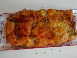 Recette Cake aux fleurs de courgettes