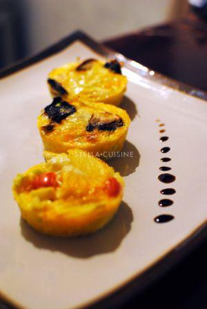 Recette Omelettes individuelles ou frittatas
