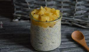 Recette Chia pudding au kiwi jaune