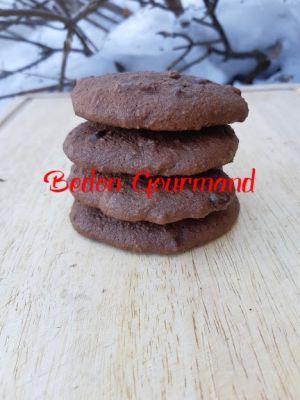 Recette Biscuits-roches au chocolat