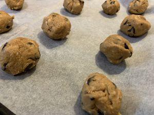 Recette Cookies sans lait