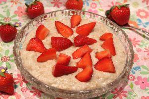 Recette Porridge au lait d'amande