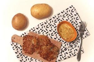Recette Spécialité du Luxembourg : Gromperekichelcher ou galette de patates