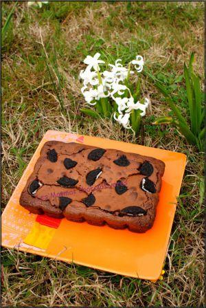 Recette Brownie aux Oréo