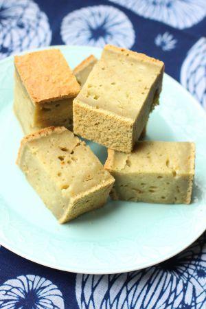 Recette Gâteau mochi au thé matcha