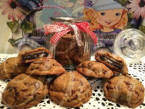Recette Cookies Fourrés à L' Oreo / Cookies com Recheio Oreo
