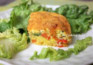 Recette Frittata aux petits légumes