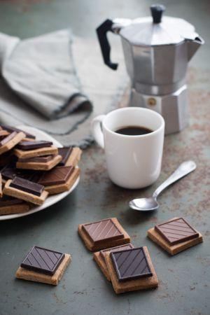 Recette Cric, crac, croc, les sablés noisette et chocolat