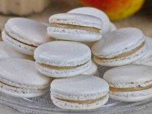 Recette Macarons à la poire (et fève tonka)