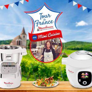 Recette Ambassadrice du Tour de France – Moulinex s'invite près de chez vous