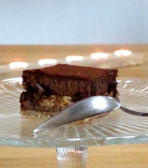 Recette Entremets aux noisettes, café et chocolat