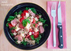 Recette Salade montagnarde