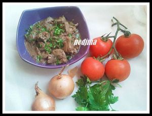 Recette Kebda mchermla (foie de mouton)
