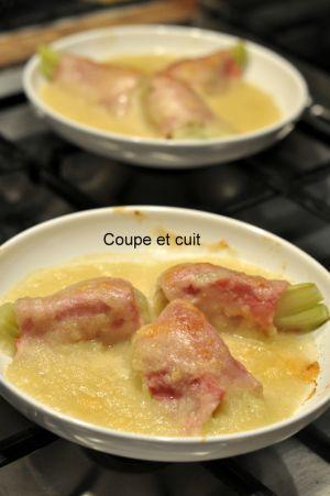 Recette Fenouil au jambon