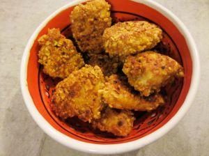 Recette Nuggets poulet-cacahuète épicés