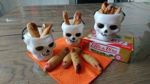 Recette Doigts de socières pour Halloween !!!!
