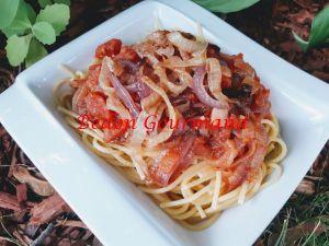 Recette Sauce tomate et oignons caramélisés