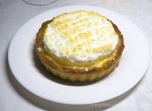 Recette Tarte au citron meringuée keto