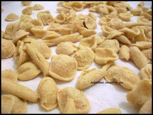 Recette Orecchiette, maccheroncini et cavatelli faits maison: pâtes typique des Pouilles