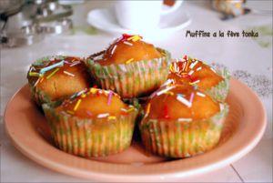 Recette Muffins a la fève tonka et caramel