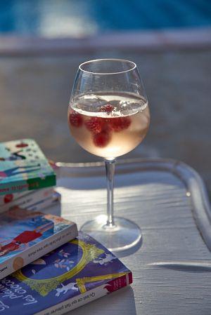 Recette Spritzer rosé framboise