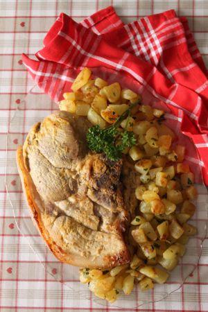 Recette Rouelle de Porc au Cidre et à a Moutarde