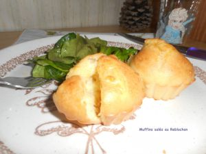 Recette Muffins salés au Reblochon