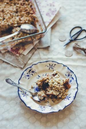 Recette Crumble biscuité // Biscuit crumble