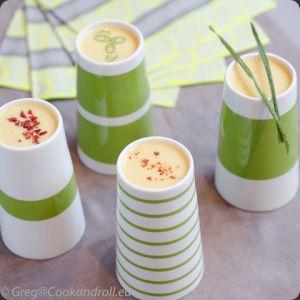 Recette Soupe au maïs et fromage frais