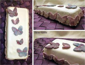 Recette Gâteau d'Isabelle ou la suite de la pâte à sucre