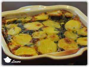 Recette Frittata aux épinards