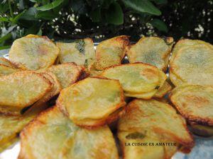 Recette Chips décorées