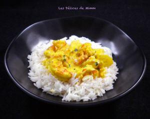 Recette Scampis au curry et à l'ananas