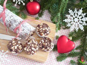 Recette Saucisson au Chocolat sans oeuf