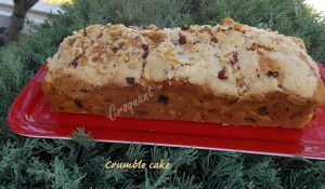 Recette Crumble cake
