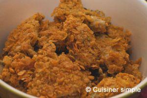 Recette Nuggets de poulet marinés (au four)