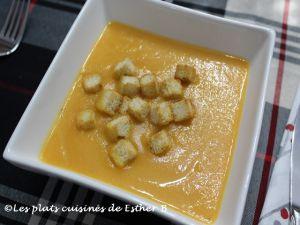 Recette Crème de rutabaga et carottes à l'érable